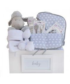 Canastilla de bebé Gris Handan | Regalo para recién nacidos
