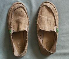 Sanuk Womens Slip On Flats sz 7 #Sanuk #Slides