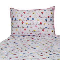 John Lewis Woodland Owl Cot Bed Duvet Set Multi Online At Johnlewis