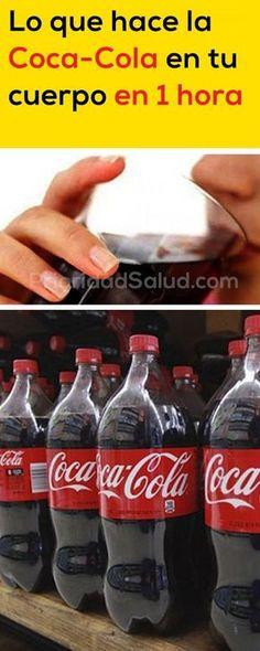 Esto pasa en tu cuerpo en 1 hora luego de beber coca-cola.