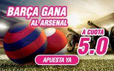 el forero jrvm y todos los bonos de deportes: wanabet Barcelona gana Arsenal cuota 5 + 150 euros...