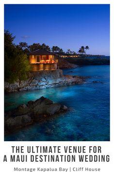 Trendy wedding destination hawaii things to do ideas Best Hotels In Maui, Best Resorts, Resorts For Kids, Maui Honeymoon, Kapalua Bay, Hawaii Things To Do, Photo Wedding Invitations, Creative Wedding Ideas, Maui Weddings