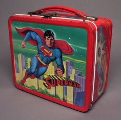 How do you bring your lunch to school? Children have carried their lunch in colorful metal lunchboxes like this one since the early 1900s. This Superman lunchbox is from 1978. Come join us at the Brooklyn Children's Museum this Friday, June 28, 2013 to celebrate SUPERHERO DAY! ©Brooklyn Children's Museum, 2005.5.83