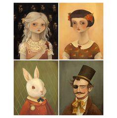 alice in wonderland portraits