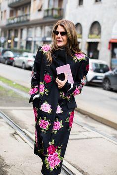 Street style at Milan Fashion Week Fall Winter 2018-2019 31b252cefa8