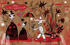 Day of the Dead for Loca Chihuahua by Nate Williams