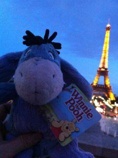 Le Tour Eiffel... Je t'aime Paris