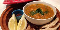 Moroccan Lamb, Chickpea and Lentil Soup (Harira)