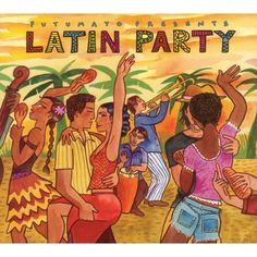The song 'Yiri Yiri Bon from the 2010 album 'Putumayo Presents Latin Party' by the group Ska Cubano. The group is London based and they combine ska and Cuban. Latin Music, Latin Dance, Cd Music, Music Mood, Latin Party, Spanish Party, Dancehall, Latin Artists, Dance Paintings