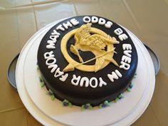 Hunger Games Mockingjay Cake