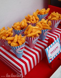 Carnival /Circus Birthday Party Ideas | Photo 28 of 42 | Catch My Party