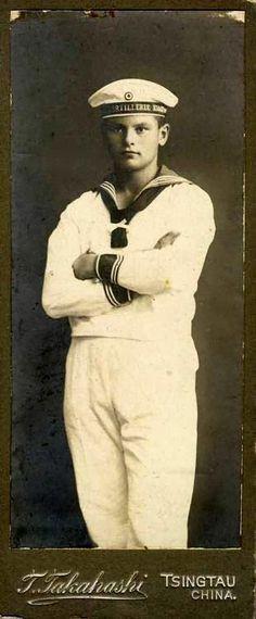 Vintage Sailor...this looks just like Christian!!!!!