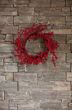 #Kremmerhuset #krans #julekrans #rød #pynt #julepynt #jul