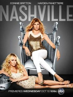 Nashville. Favorite TV show about my hometown. Currently films in my neighborhood.     #Nashville