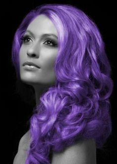 Halloween Purple Coloured Hair Spray
