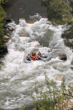 ✮ Rafting on the Upper Kern River, Sequoia National Forest. Have a stay in Kernville, CA, It's a great little town! Or stay at one of the many public/private campgrounds along the river. We love camping up there.