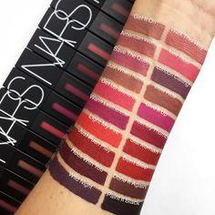 NARS POWERMATTE Lip Pigment • NEW Hotness from @narsissist • #lipstick #lipstickswatch #swatch #swatches #lipstickswatches #nars