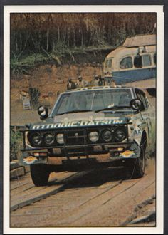 Panini Super Auto 1977 Sticker - Sticker No 101 - Rally Cars in Collectables, Cigarette/Tea/Gum Cards, Other Trade Cards | eBay