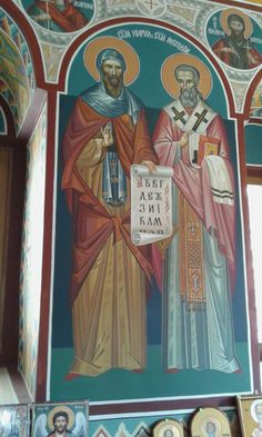 #Saints Cyril & Methodius #mural