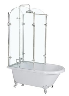 clawfoot tub shower enclosure kit. Vintage Clawfoot Tub Shower Combination  Products Pinterest shower combination tub and Kingston