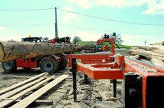 Wood Mizer Trak w akcji Kruca Fuks Tractors, Monster Trucks, Wood, Woodwind Instrument, Timber Wood, Trees
