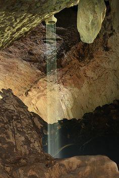 Adam's shower, Deer cave (Garden of Eden side), Gunung Mulu National Park, Sarawak, Malaysia