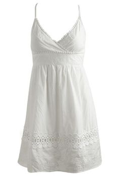 Little White Dress - I haven't ruled out the basic, white sundress.