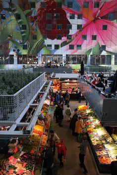 °•.* Pinterest || hopepapworth ∆ Markthal Rotterdam