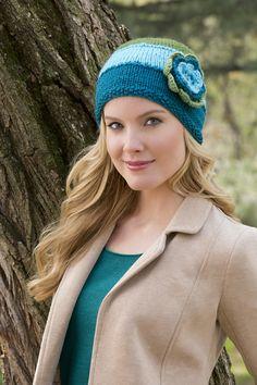 Ravelry: Hat In Bloom by Lisa Gentry