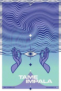 tame impala gig posters - interesting designs, appeals to young new age audiance Event Poster Design, Event Posters, Tour Posters, Band Posters, Retro Posters, Flyer Design, Gig Poster, Poster Prints, Design Graphique