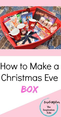 Need Tips on Making a Christmas Eve Box for the family? Then click to read more about how we made our first Christmas Eve Box  Christmas  Christmas ideas Christmas Eve box Christmas tips Christmas time