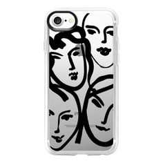 Matisse Loves You - iPhone 7 Case And Cover ($40) ❤ liked on Polyvore featuring accessories, tech accessories, iphone case, iphone cover case, clear iphone case, iphone cases and apple iphone case