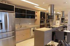 apartamento decorado cozinha planejada com espelho danyela correa