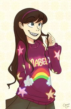 Mabel from Gravity Falls by E-kaay.deviantart.com on @deviantART