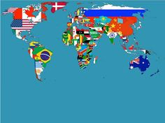 21 Best Planeta Zemlja Images World Map With Countries