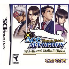 Phoenix Wright Ace Attorney: Trials And Tribulations [ Nintendo DS DSi]