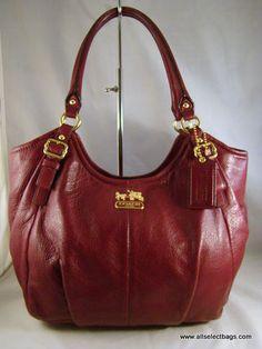 Coach Madison Gathered Leather Abigail Shoulder Bag 18603 89