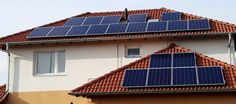 Nézd meg referenciáinkat. Solar Panels, Outdoor Decor, Home Decor, Homemade Home Decor, Sun Panels, Roof Solar Panels, Interior Design, Home Interiors, Decoration Home