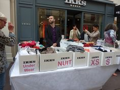 Sale at the IKKS store St Tropez