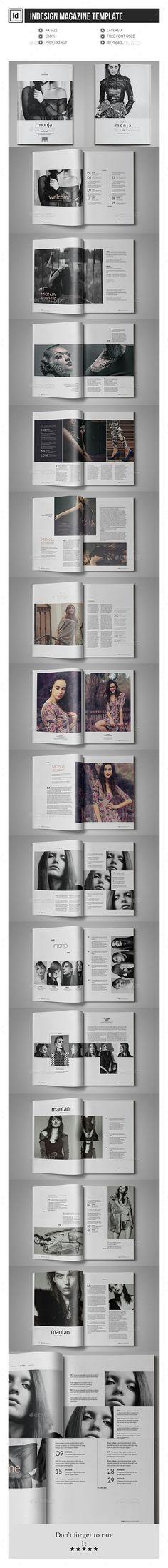 Multipurpose InDesign Magazine Template #design Download: http://graphicriver.net/item/multipurpose-indesign-magazine-template/12046872?ref=ksioks