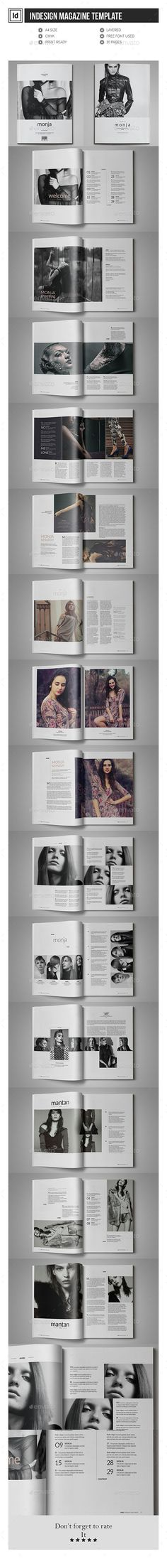 Multipurpose InDesign Magazine Template #design Download: http://graphicriver.net/item/multipurpose-indesign-magazine-template/12046872?ref=ksioks