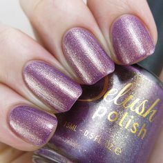 Fiery, deep plum rose pink with a stunning coppery gold sheen, that will surely have you craving for seconds! This listing is for a full sized 15ml bottle. Swatches: Game n Gloss / Lylynails / Gotnail