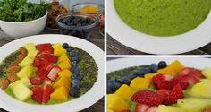 Rainbow Green Smoothie Bowl | Mambo Sprouts #JuicingInJuly
