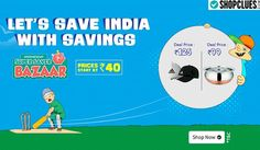 Wednesday Means Savings Shopclues SuperSaverBazaar Sale - Starts @ Rs.40 - Couponscenter