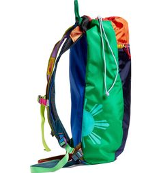 A lightweight daypack made from durable ripstop nylon.
