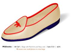 Belgian slippers - not this color, but still want a pair someday!