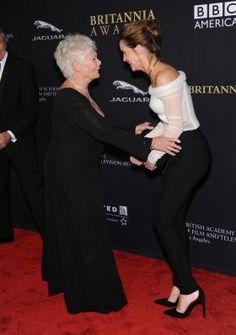 Emma Watson and Dame Judi Dench - Adorable!