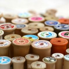 What all can you do with spools of thread?