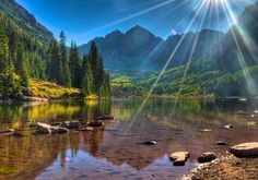 Maroon Bells puzzle in Great Sightings jigsaw puzzles on TheJigsawPuzzles.com. Play full screen, enjoy Puzzle of the Day and thousands more.