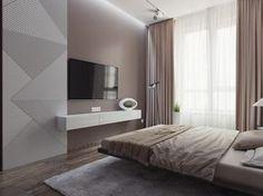 Спальня в современном стиле - Галерея 3ddd.ru